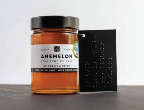 Packaging of the World | ANEMELON Braille Labels